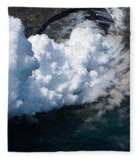 Lava, Meet Ocean 2 Fleece Blanket