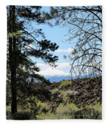 Lava Mountain Fleece Blanket