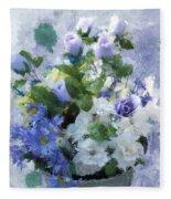 Lavender Blue Fleece Blanket