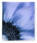 Lavender Blue Silk Fleece Blanket