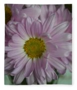 Lavender Daisy Fleece Blanket