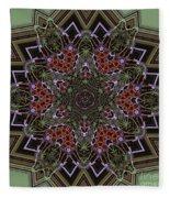 Lavender Mandala Fleece Blanket