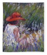 Lavender Treasure Fleece Blanket