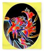Lavish Lilies 2 Fleece Blanket