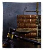 Law And Justice II Fleece Blanket