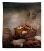 Lawyer - The Law Office Fleece Blanket