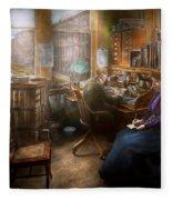 Lawyer - Always Taking Notes - 1902 Fleece Blanket