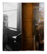 Lawyer - Always Taking Notes - 1902 - Side By Side Fleece Blanket