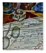 Lawyer - The Tax Attorney Fleece Blanket