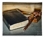 Lawyer - Truth And Justice Fleece Blanket
