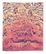Layers Of Sand Fleece Blanket