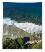 Lazy Waves Fleece Blanket