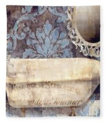 Le Bain Paris Blue Fleece Blanket