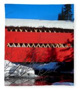 Le Boise Du Pont-rouge ... Fleece Blanket