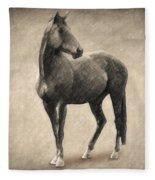 Le Cheval Fleece Blanket