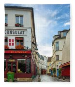 Le Consulat Fleece Blanket