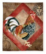 Le Coq - Greet The Day Fleece Blanket