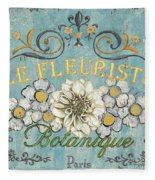 Le Fleuriste De Botanique Fleece Blanket