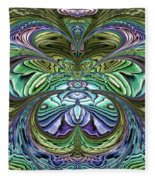 Le Jardin Secret Fleece Blanket