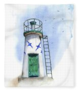 Le Phare Fleece Blanket