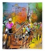 Le Tour De France 04 Fleece Blanket