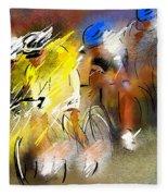 Le Tour De France 05 Fleece Blanket