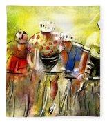 Le Tour De France 07 Fleece Blanket