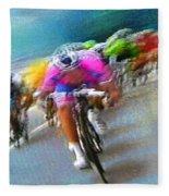 Le Tour De France 09 Fleece Blanket
