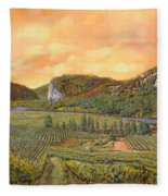 Le Vigne Nel 2010 Fleece Blanket