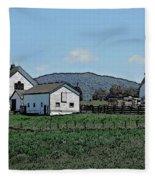 Lea Homestead Fleece Blanket