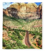 Lead Me To Zion Fleece Blanket