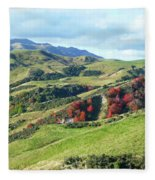 Leader Road View Fleece Blanket