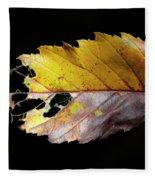 Leaf Fleece Blanket