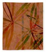 Leaf Dance Fleece Blanket