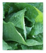 Leaf Lettuce Part 4 Fleece Blanket