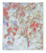 Leaf Me 4 Fleece Blanket