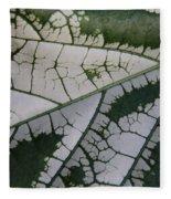Leaf Variegated 1 Fleece Blanket