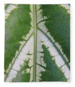 Leaf Variegated 2 Fleece Blanket