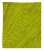 Leafy Leaf Fleece Blanket