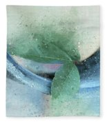 Leafy Pipe Fleece Blanket