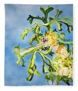 Leafy Sea Dragon Fleece Blanket