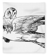 Lear: An Alphabet Fleece Blanket