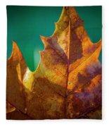 Leaves 971 Fleece Blanket