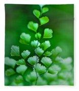 Leaves Rising Fleece Blanket