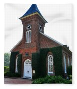 Lee Chapel Fleece Blanket