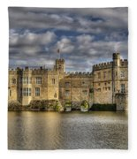 Leeds Castle Fleece Blanket