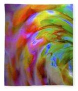 Left Side Faerie Wing Fleece Blanket