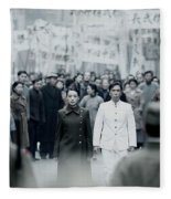 Legend Of The Fist The Return Of Chen Zhen Fleece Blanket