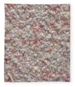 Legendary Pink Sand From Eleuthera Bahamas Fleece Blanket