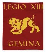 Legio Xiii Gemina Fleece Blanket